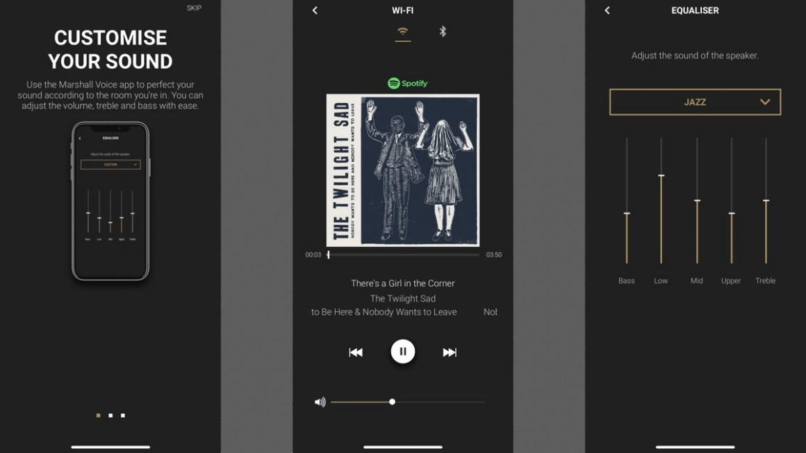 Aplicación Marshall Uxbridge Voice y multisala