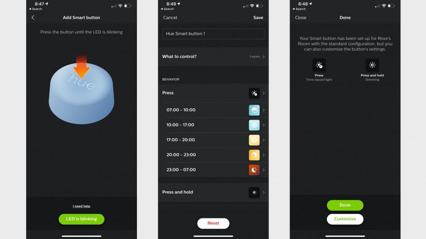 Revisión del botón inteligente Philips Hue: presione para probar