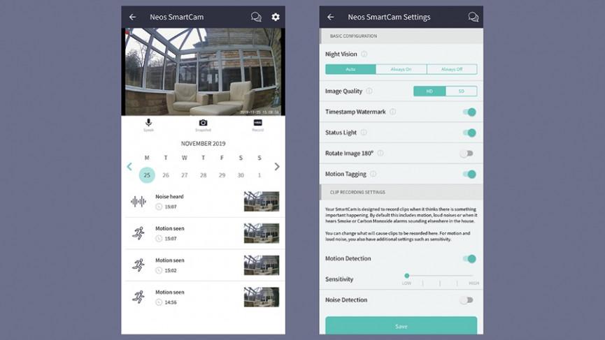 Revisión de Neos SmartCam: cámara de seguridad súper barata, súper pequeña y súper útil
