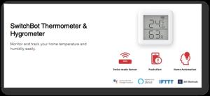 Revisión del producto: Termómetro e higrómetro Switchbot