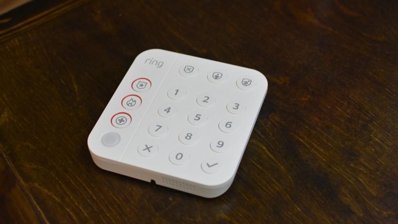 Teclado de alarma de timbre