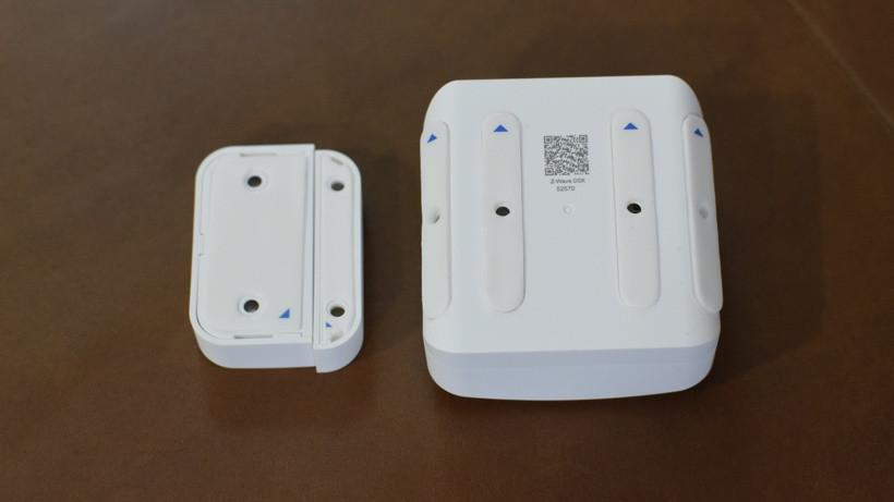 Sensores inteligentes del sistema de seguridad del anillo