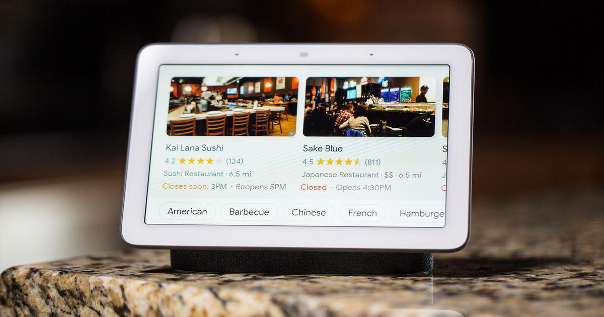 Los mejores dispositivos Google Assistant y Nest de 2020