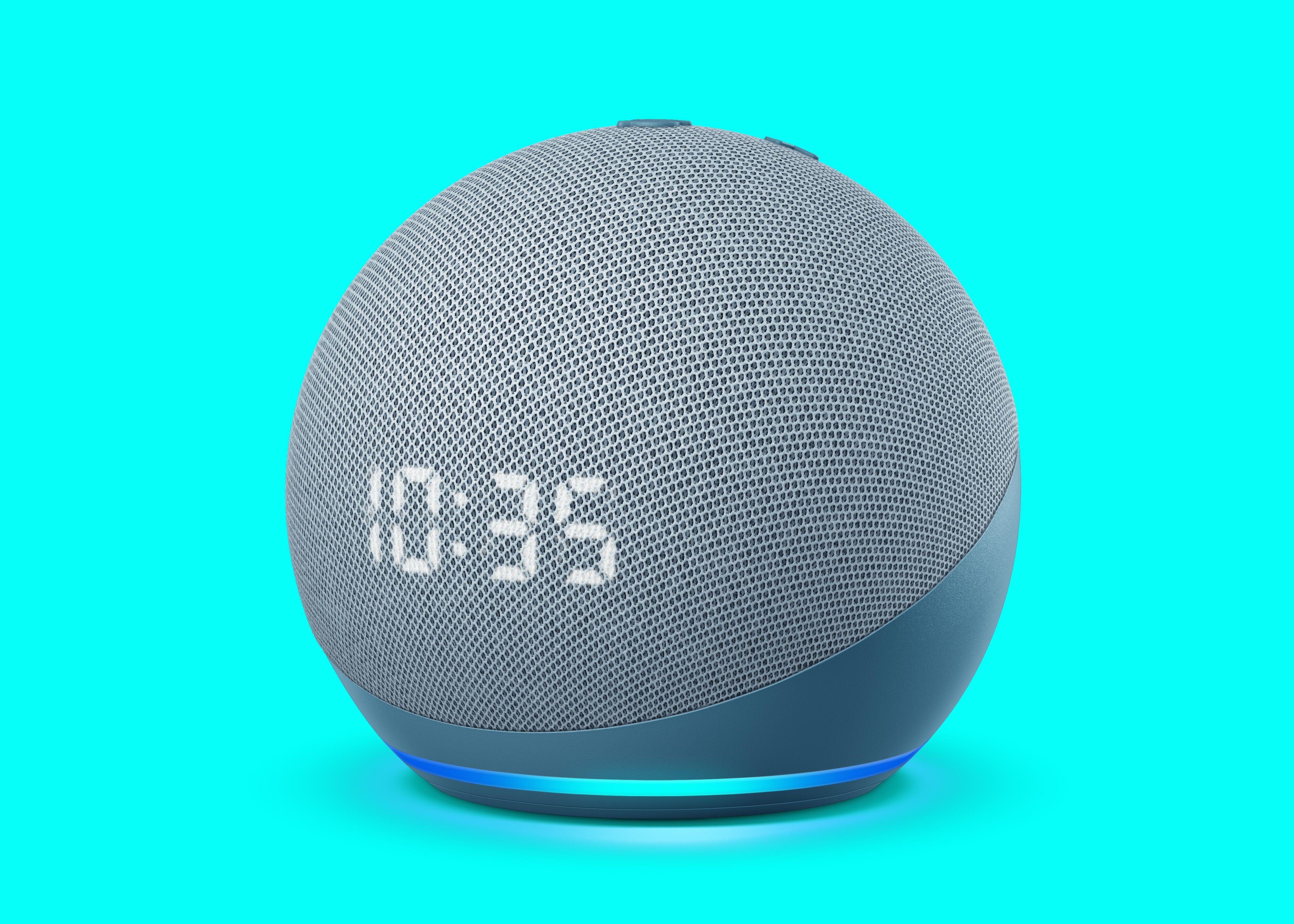 Todo nuevo Echo Dot con reloj