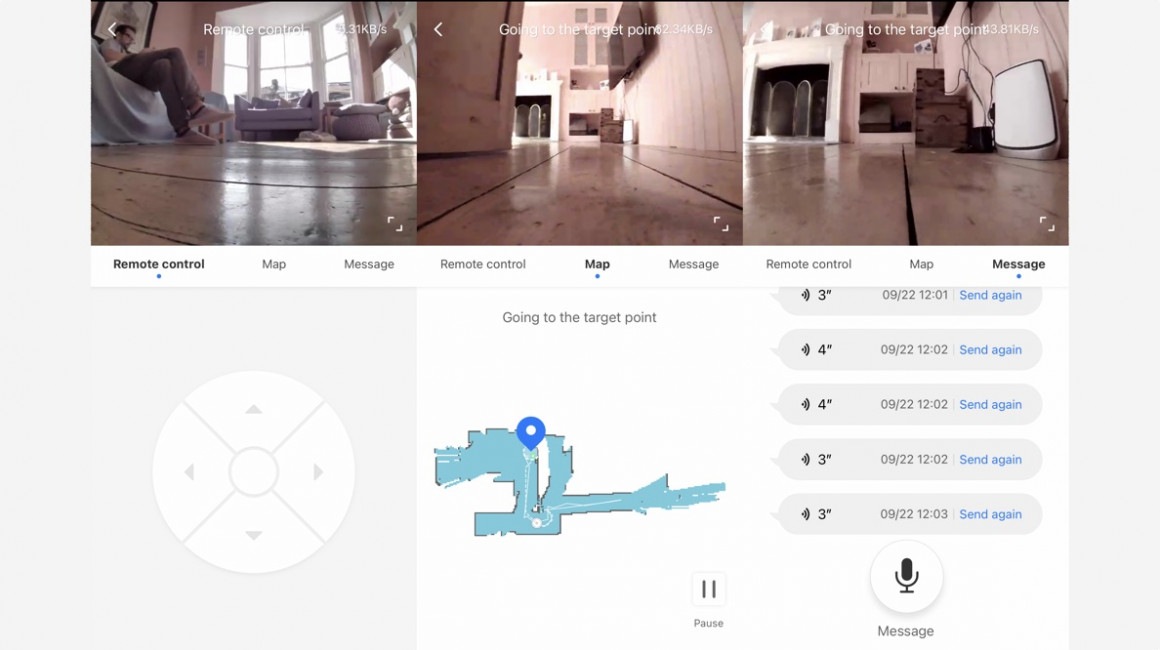 Visualización remota de Roborock S6 MaxV