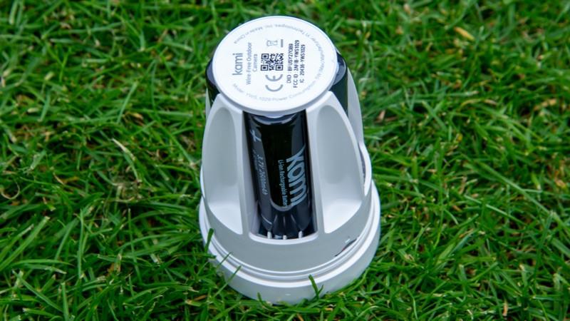 Baterías para cámaras exteriores sin cables Kami