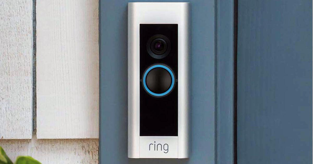 Monte un Ring Video Doorbell Pro en su porche delantero por solo $ 160