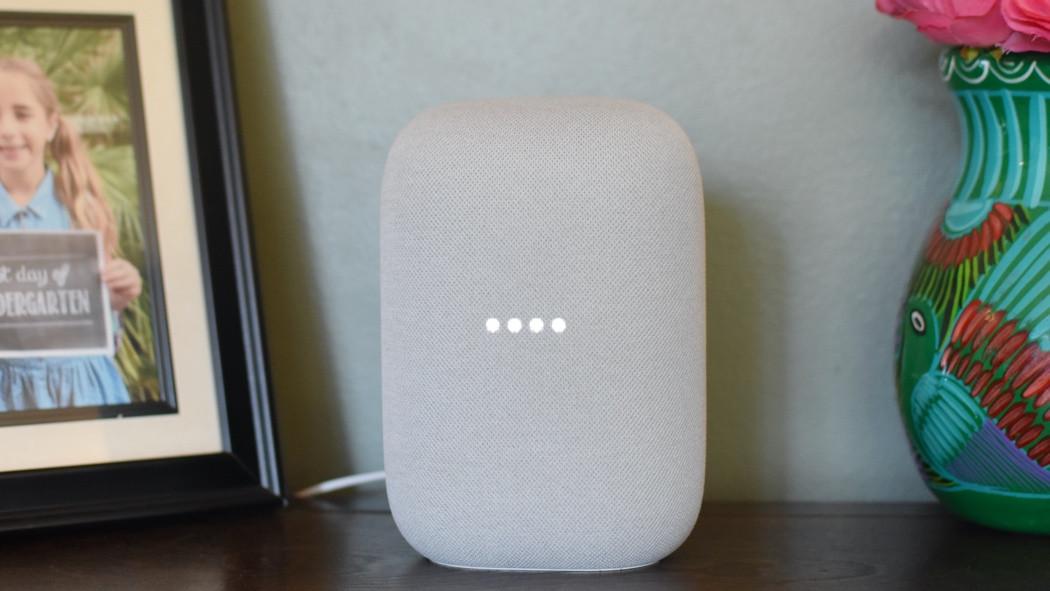 Altavoz inteligente Nest Audio