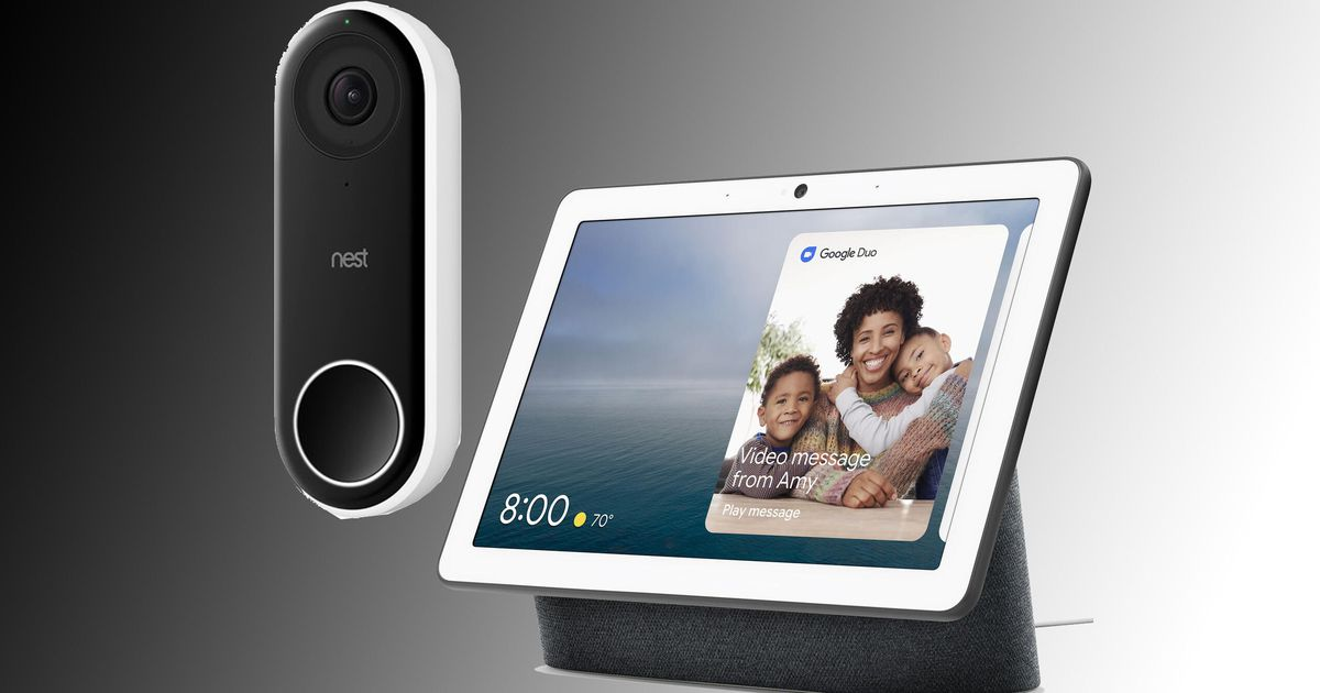 Solo hoy: obtén un timbre Nest Hello y Google Hub Max con un 37% de descuento