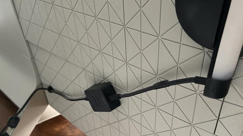 Hue Play Gradient Lightstrip alimentación y cable