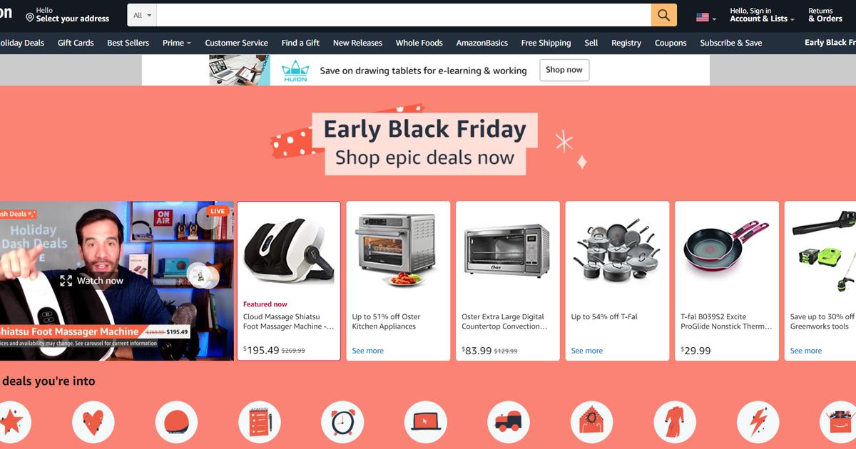 Ofertas de Amazon Black Friday 2020 reveladas: reducciones en los últimos dispositivos Echo, timbres con video Ring, tabletas Fire HD y más a partir del 20 de noviembre