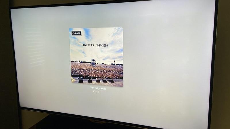 Carátula del álbum Roku Streambar airplay