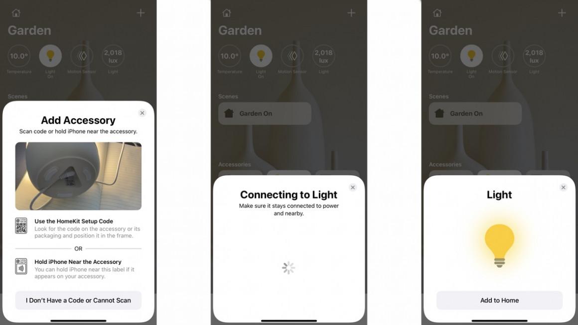 Aplicación de inicio de apple homekit de Meross
