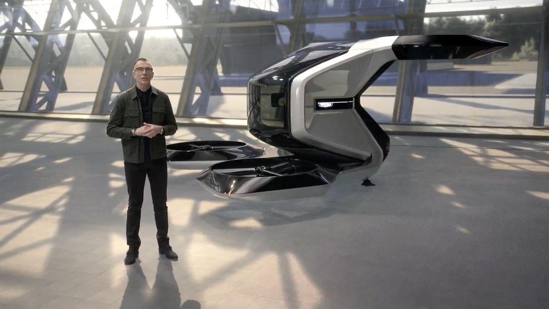 Concepto de taxi volador GM Cadillac eVTOL