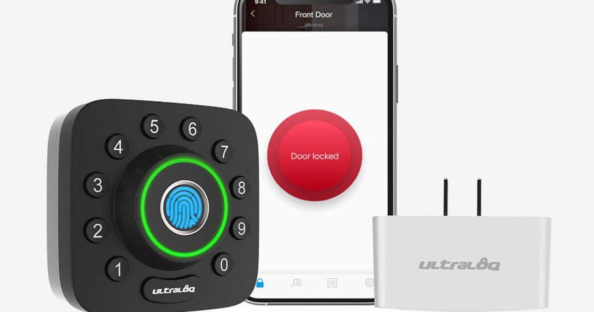 Oferta de seguridad para el hogar: la cerradura inteligente Ultraloq U-Bolt Pro mejor calificada por $ 139 (ahorre $ 60)