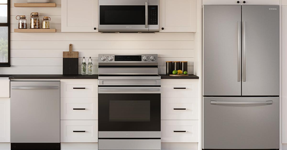 Venta de electrodomésticos grandes de Samsung: Ahorre hasta un 30% en refrigeradores, estufas, lavadoras y secadoras