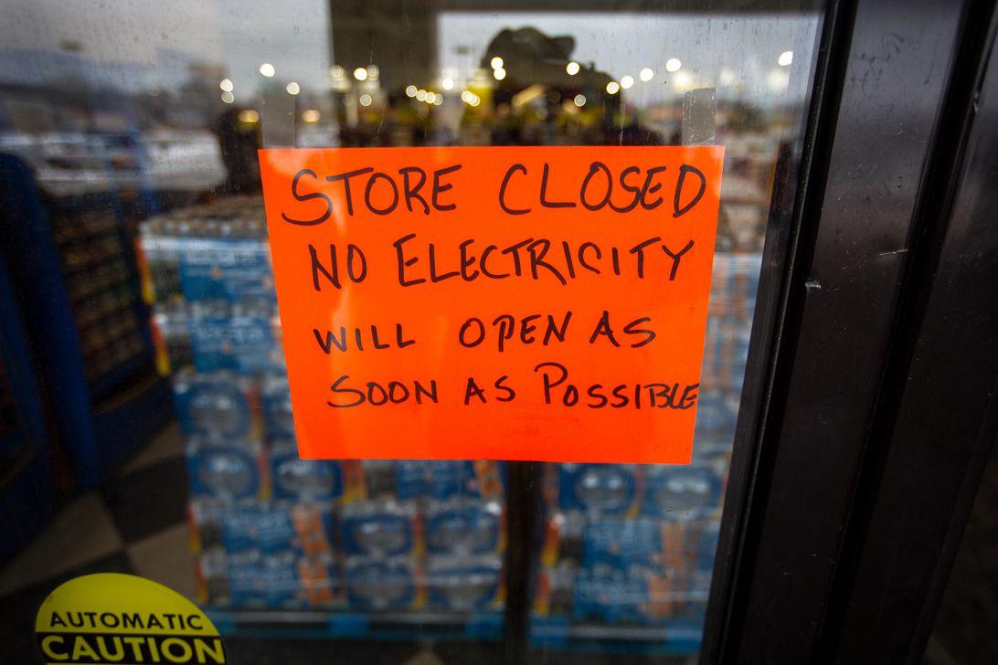 Corte de energía en Texas