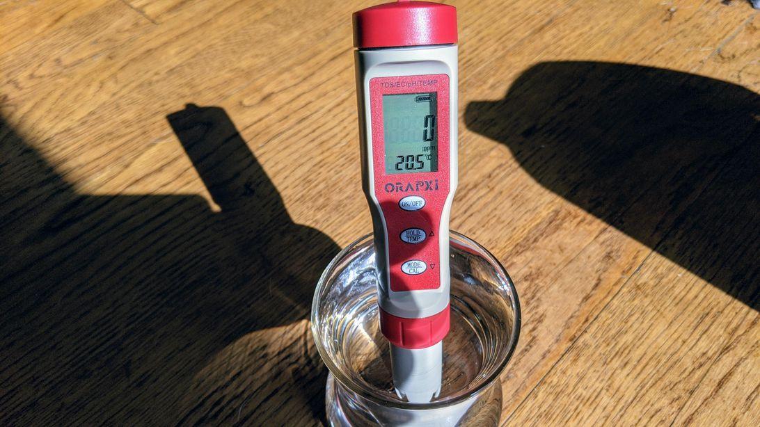 Agua filtrada ZeroWater