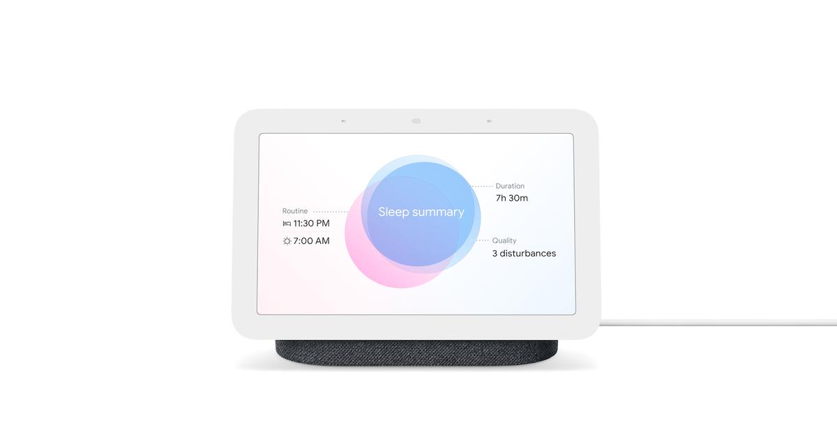 El nuevo Nest Hub de Google rastrea tu sueño con Soli, no se requiere cámara.  Así es como funciona