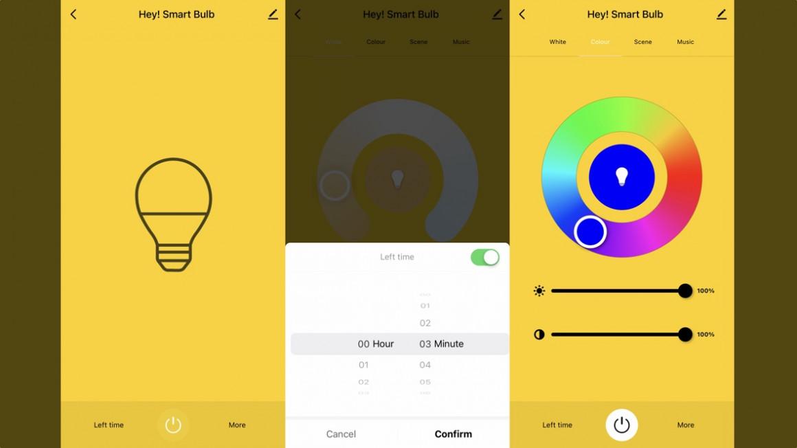 Smart Life controlando luces inteligentes