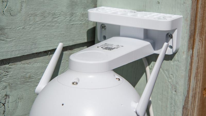 Revisión de Ezviz C8C: cámara de seguridad inteligente con panorámica 360