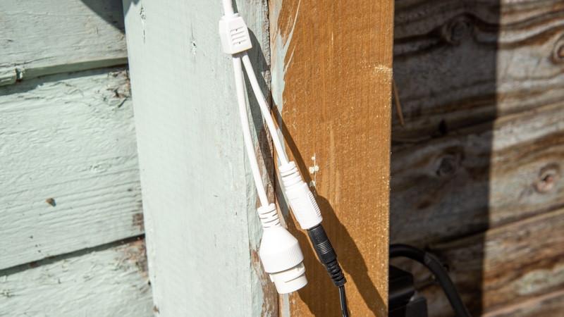 Cable de alimentación y ethernet Ezviz C8C