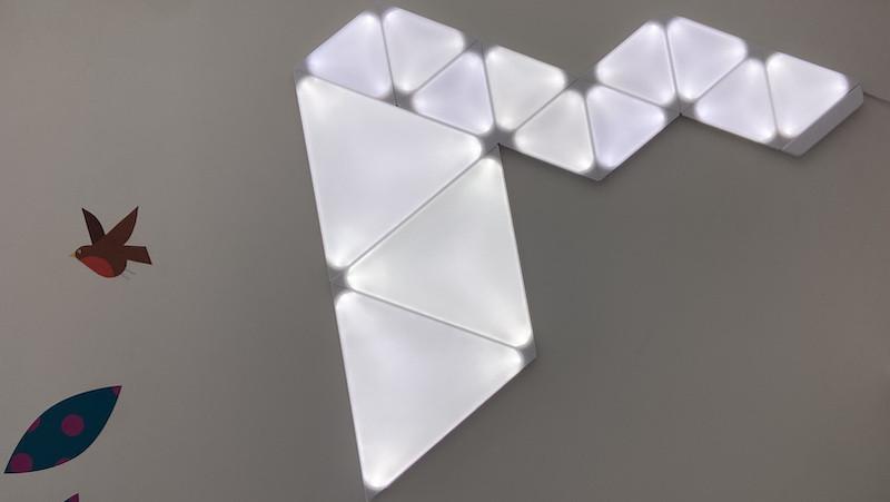 Revisión de Nanoleaf Shapes: una gama más amplia de formas le permite construir una pared de color