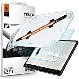 Spigen EZ Fit Protector de pantalla de vidrio templado mate antideslumbrante para Tesla Model 3 y Model Y - 1 paquete