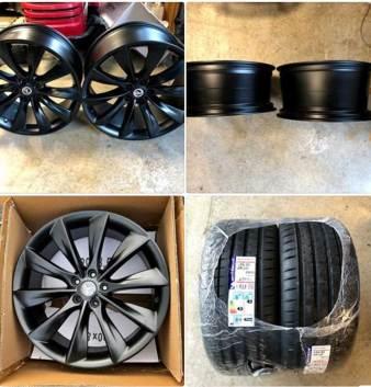 Tesla Model 3 - Wheel Upgrade