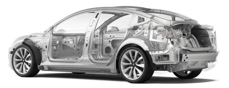 Tesla Model 3 Body