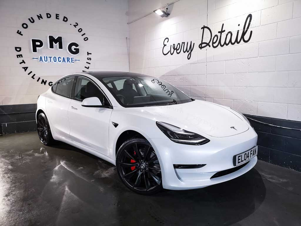Tesla Model 3 Ceramic Coating UK